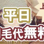 【2月13日~2月28日】上野院平日限定 剃毛代無料キャンペーン